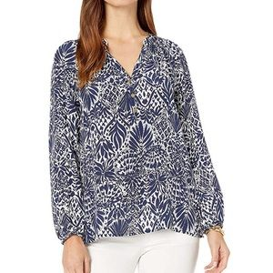 NWT Lilly Pulitzer Elsa Top in By Land or By Sea